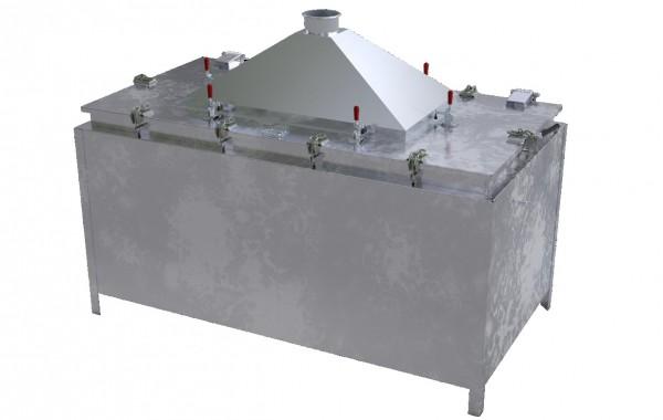 Lio Guard Test Bench 2100 Prüfstandsbehälter für Lithium-Ionen-Batterien