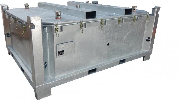 Lio Guard Test Bench 4500 Prüfstandsbehälter für Lithium-Ionen-Batterien