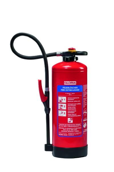 GLORIA WKL9 PRO Wasser-Feuerlöscher mit Löschmittelzusatz für Lithium-Ionen-Akkus