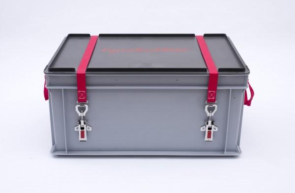 Genius Lio Guard S-Box 1 Basic Kunststoff-Behälter für Li-Ionen-Akkus inkl. Pyrobubbles