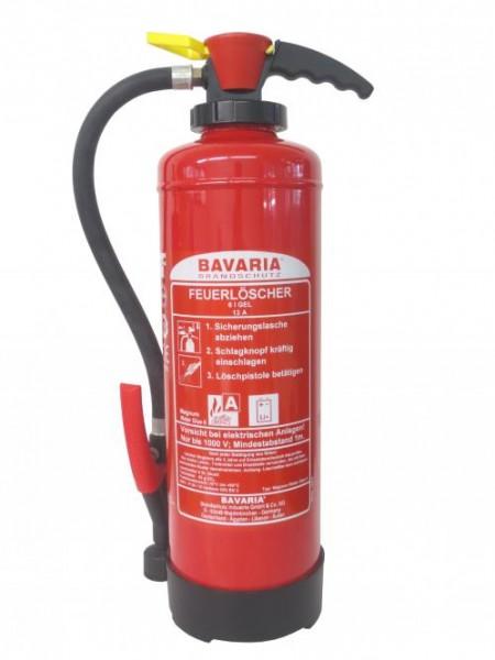 BAVARIA Gel-Feuerlöscher Magnum Water Glue 6 für Lithium-Ionen-Akkus