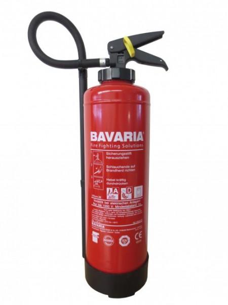 BAVARIA Feuerlöscher Lithium X6 für Lithium-Ionen-Akkus
