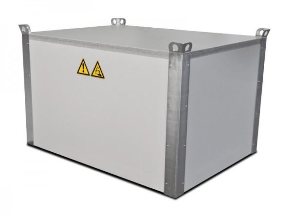PRIOCOVER Mobile Brandschutzabdeckung für Li-Ionen-Akkus inkl. Kabelschott und Fitting-Set