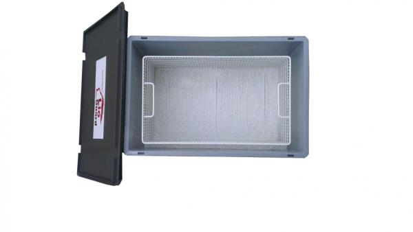 Genius Lio Guard S-Box 2 Advanced Kunststoff-Behälter für Li-Ionen-Akkus inkl. Pyrobubbles