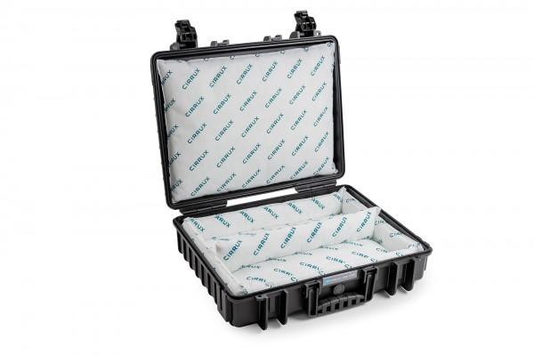 B&W Akku Transportkoffer LI-ION CARRY & STORE Type 6040 für Lithium-Ionen-Batterien / E-Bike-Akkus inkl. CIRRUX Kissen