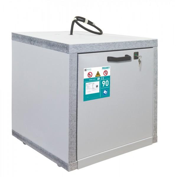 PRIOCAB-Li Typ 90 Untertischschrank / Akkuschrank schmal für Lithium-Ionen Akkus