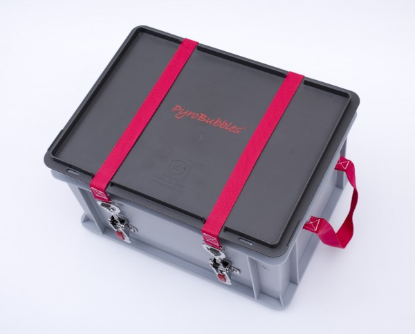 Genius Lio Guard XS-Box 2 Basic Kunststoff-Behälter für Li-Ionen-Akkus inkl. Pyrobubbles