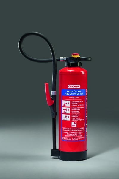 GLORIA WKL6 PRO Wasser-Feuerlöscher mit Löschmittelzusatz für Lithium-Ionen-Akkus
