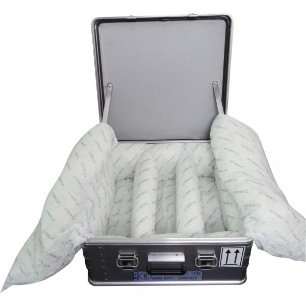 ZARGES K 470 - Akku Safe für Lithium-Ionen-Batterien / Lithium-Ionen-Akkus inkl. CIRRUX Kissen